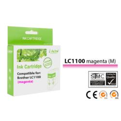 Brother -höz, i-Aicon magas minőségű LC980/LC1100 M (magenta) utángyártott tintapatron