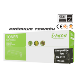 Brother -höz, i-Aicon magas minőségű TN 2120 toner (TN2120 tn360)