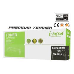 Brother -höz, i-Aicon magas minőségű TN-2220 toner (~2600 oldalas)