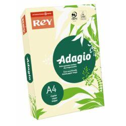 """Csontszín, A4, 80 g, Adagio """"REY""""  színes másoló-, nyomtatópapír (500lap, pasztell)"""