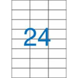 3 pályás etikett, 70x37 mm, 2400 etikett/csomag VICTORIA