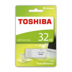 Pendrive, 32GB, USB 2.0, TOSHIBA TransMemory, fehér (U202) ►18/5MB/sec