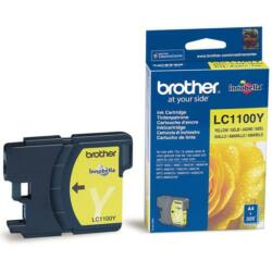 Brother LC1100 Y eredeti tintapatron ~325 oldal (LC1100)