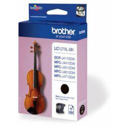 Brother LC127 Bk (fekete) eredeti tintapatron