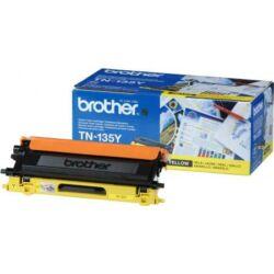 Brother TN-135 Y sárga eredeti toner 4k tn135