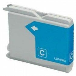 Brother -höz LC970/LC1000 C (cián) utángyártott tintapatron  (KIFUTÓ, doboz nélkül, csak a készlet erejéig!)