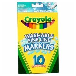 Crayola: 10 db-os vékony filctoll készlet
