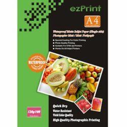 Fotópapír, ezPrint A4, fényes, 120g, 100ív/csomag (tintasugaras)