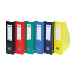 Karton iratpapucs 80 mm kék DONAU