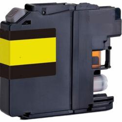 Brother -höz LC525 sárga utángyártott tintapatron (1300 oldal)
