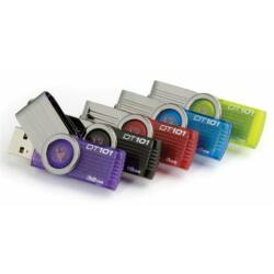 Kingston DT 101 16GB USB 2.0 Hi Speed pendrive (Fekete)