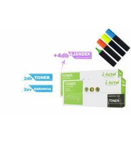 2+4DB-os PAKK Samsung -hoz, ►2DB utángyártott ML1660 toner◄ +4 db ajándék szövegkiemelő  2X~1500 oldal (MLT-D1042S)