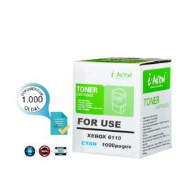 Xerox® nyomtatóhoz, i-AICON™ 6110 C cián utángyártott toner (~1000 oldal) 106R1206   ►!!!KIFUTÓ◄