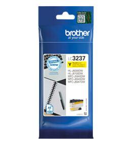 Brother LC3237 Y (sárga) eredeti normál kapacitású tintapatron (~1500 oldal)