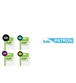 5db-os PAKK, HP -hez Nr.932xl / Nr.933xl utángyártott tintapatron, 2XBK/C/M/Y (minden szín)