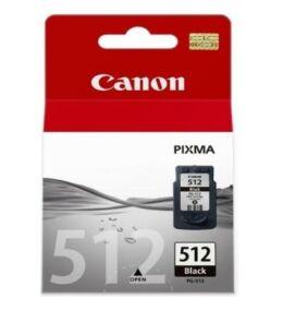 Canon® PG-512 eredeti fekete tintapatron, ~400 oldal (pg512)