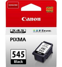 Canon® PG-545 eredeti fekete tintapatron, ~180 oldal (pg545)