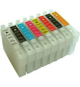 Epson -hoz T087x utángyártott tintapatron csomag 8db (To87) (≈3200oldal)