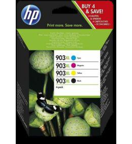 HP Nr.903XL (3HZ51AE)  eredeti (fekete-cián-magenta-sárga) tintapatron multipakk, ~3300 oldal