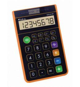 """Számológép, asztali, 8 számjegy, VICTORIA """"GVA-612N"""", narancs"""