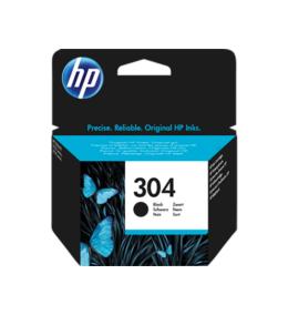 HP Nr.304 (N9K06AE) eredeti fekete tintapatron, ~120 oldal