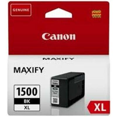 Canon® PGI-1500BK XL eredeti fekete tintapatron, ~1200 oldal (pgi1500xl)