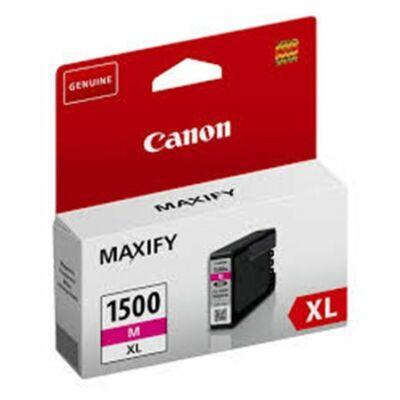 Canon® PGI-1500M XL eredeti magenta tintapatron, ~900 oldal (pgi1500xl)