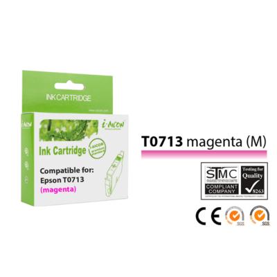 Epson -hoz, T0713 (T0893) magenta utángyártott tintapatron (to713)V6.0 (≈400oldal)
