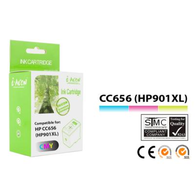 HP -hez i-Aicon  Nr.901XL (CC656A) utángyártott színes tintapatron, ~450 oldal