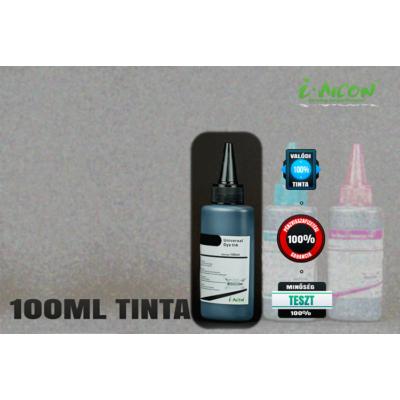 FEKETE színű 100 ml-es univerzális utántöltő tinta  Brother, Canon, Epson, HP, Lexmark tintapatronokhoz