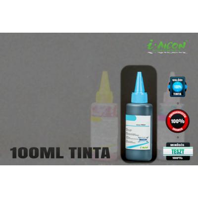 VILÁGOS CIÁN színű 100 ml-es univerzális utántöltő i-AICON™ tinta  Brother, Canon, HP, Lexmark tintapatronokhoz