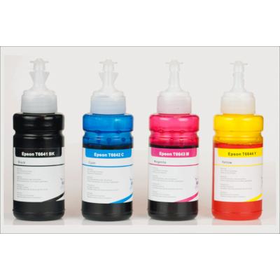 EPSON -hoz T664x i-AICON™ 4 színű utángyártott tinta PAKK (T672x)(~4000 + 3*6500 oldalas,4*70ml) T6641+T6642+T6643+T6644
