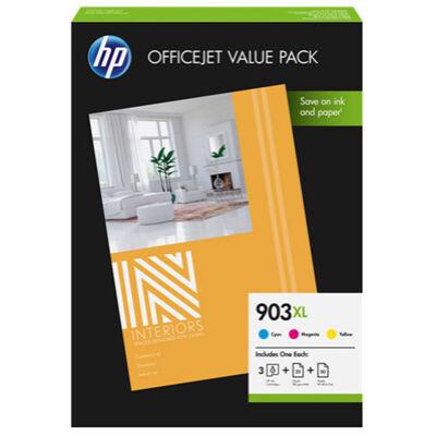 HP Nr.903XL (1CC20AE) eredeti színes tintapatron pakk
