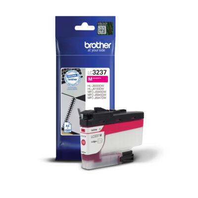 Brother LC3237 M (magenta) eredeti normál kapacitású tintapatron (~1500 oldal)