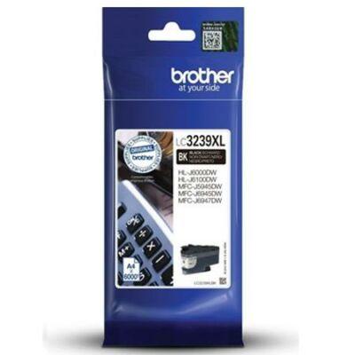 Brother LC3239xl Bk (fekete) eredeti nagy kapacitású tintapatron (~6000 oldal)
