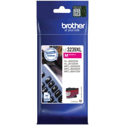 Brother LC3239xl M (Magenta) eredeti nagy kapacitású tintapatron (~5000 oldal)