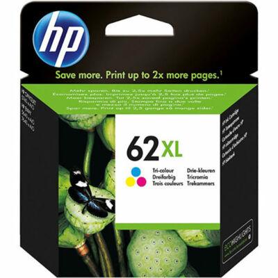 HP Nr.62XL (C2P07AE) eredeti színes tintapatron, ~415 oldal
