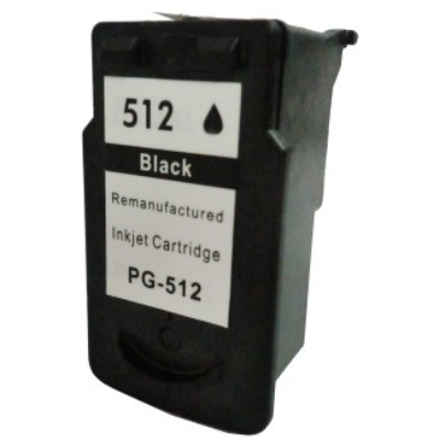 Canon -hoz PG-512 fekete utángyártott tintapatron, ~400 oldal (pg512)