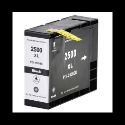 Canon -hoz PGI-2500XL fekete utángyártott tintapatron, ~2500 oldal