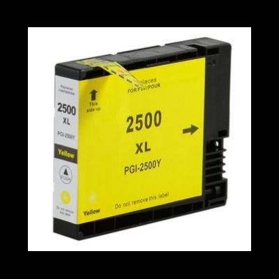 Canon -hoz PGI-2500XL sárga utángyártott tintapatron, ~1500 oldal