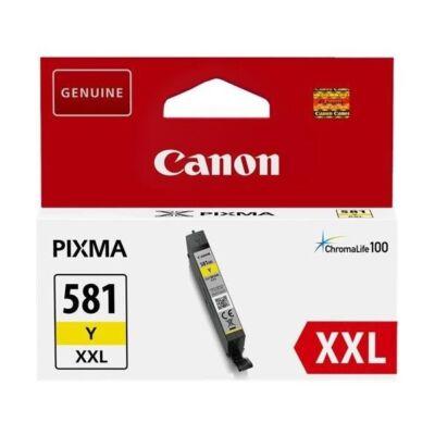 Canon CLI-581 XXL eredeti sárga tintapatron, ~825 oldal