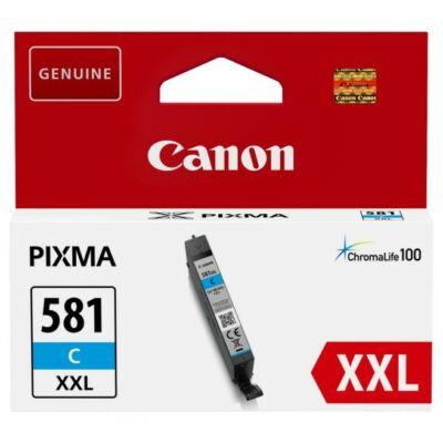 Canon CLI-581 XXL eredeti cián tintapatron, ~825 oldal