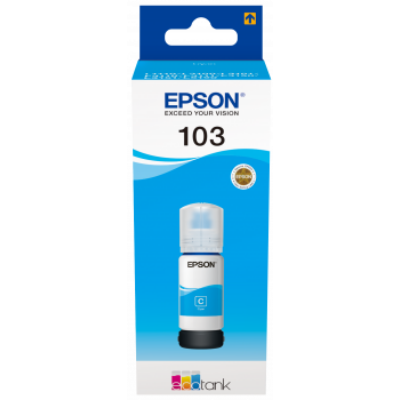 Epson® Nr.103 eredeti cián tinta (65ml) (T00S2) (≈7500oldal)