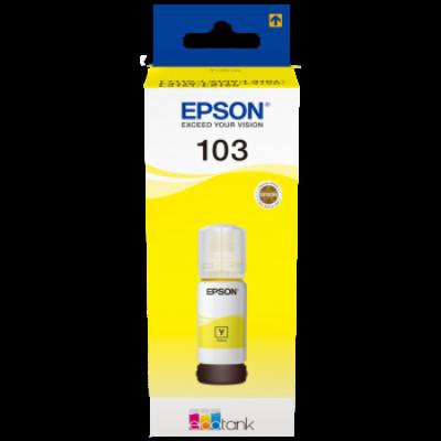 Epson® Nr.103 eredeti sárga tinta (70ml) (T00S4) (≈7500oldal)