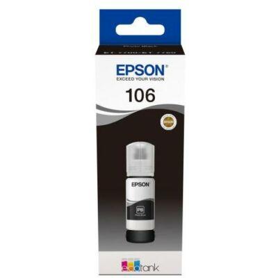 Epson® Nr.106 eredeti fotó fekete tinta (70ml) (T00R1) (≈5000oldal)