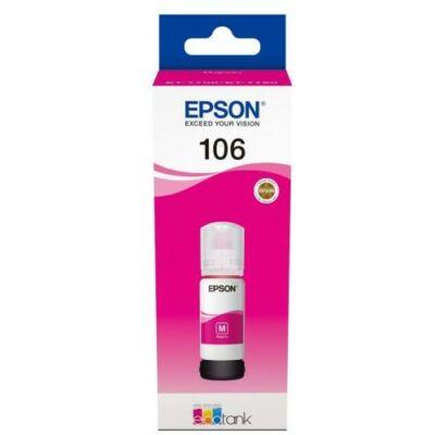 Epson® Nr.106 eredeti magenta tinta (70ml) (T00R3) (≈5000oldal)
