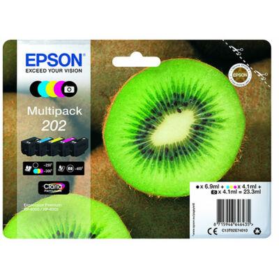 Epson 202 (T02E7) eredeti tintapatron-pakk (minden szín) (≈1550oldal)