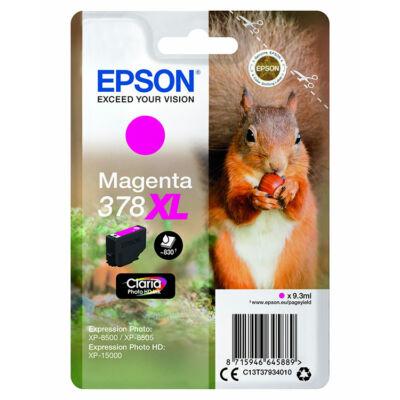 Epson T3793 (378XL) eredeti magenta patron (~830 oldal)
