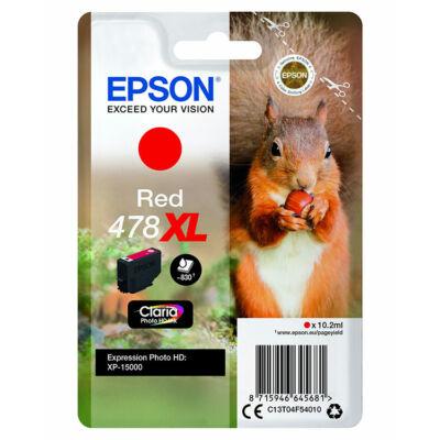 Epson T04F5 (478XL) eredeti piros patron (~830 oldal)