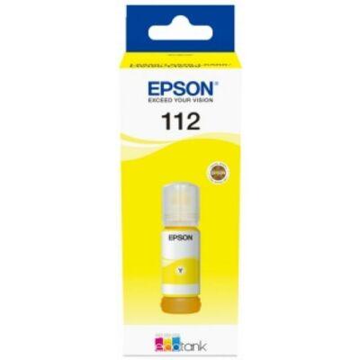 Epson Nr.112 eredeti sárga tinta (C13T06C44A), 70ml (≈6000oldal)